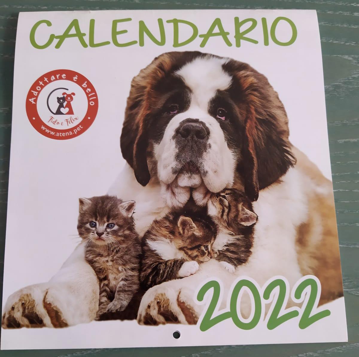 Da Lunedì 6 settembre è in vendita il calendario 2022, con tante foto e importanti informazioni!!!!!